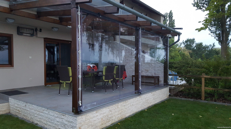 Átlátszó ponyva terasz, Balaton