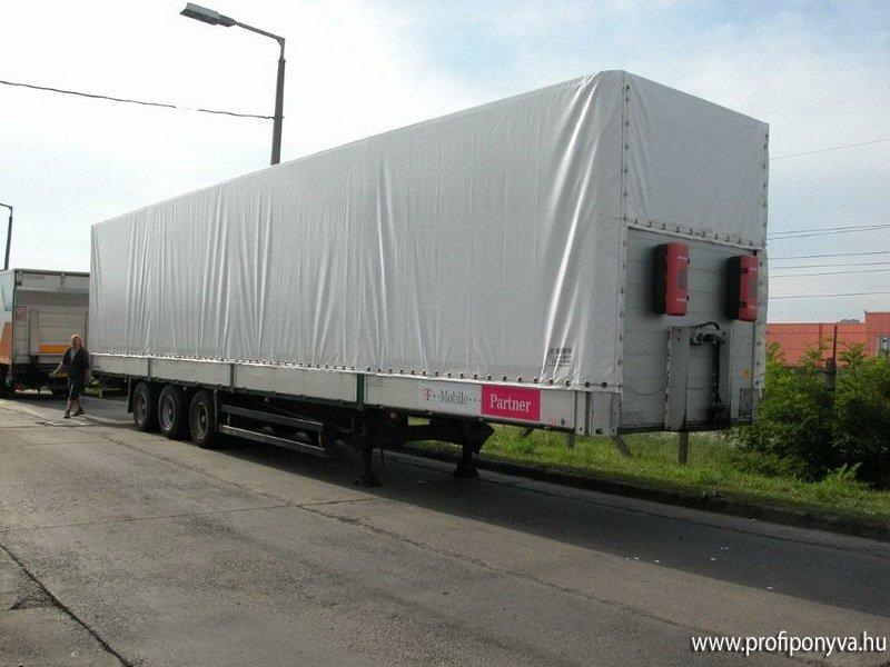 Kamion ponyva készítés, ponyvázás