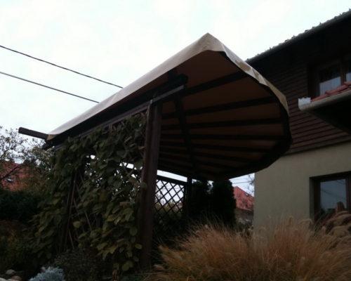 Nyári napvédő ponyva terasz