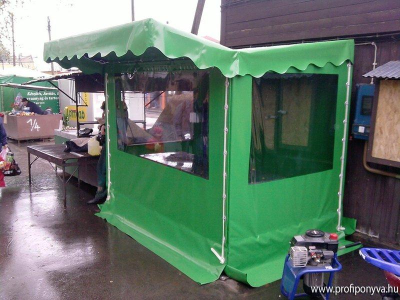 Zöldséges piaci sátor