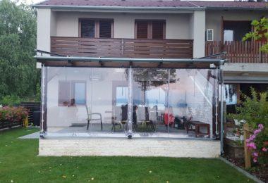Átlátszó ponyva, Balaton