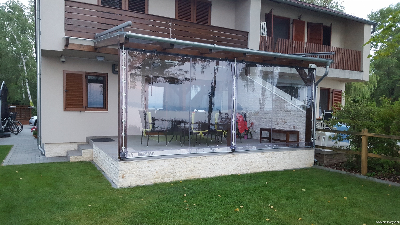 Ponyva terasz Balaton
